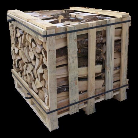 1 BOX BÛCHES DE BOIS longueur 30 cm 1.5 stères